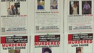 Making a difference: Crime Stoppers Of Michigan Wall highlights solved & unsolved cases