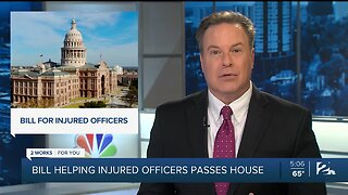 Bill Helping Injured Officers Passes House