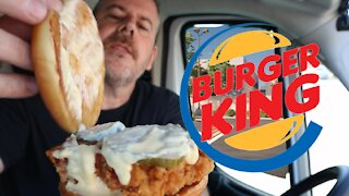 NEW BK Burger King Hand Breaded Crispy Chicken Sandwich, better than Popeye's and Chick-fil-A???