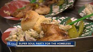 Homeless community celebrates Super Bowl at 'Super Soul' event