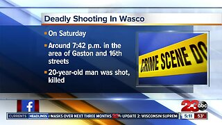 Deadly shooting in Wasco