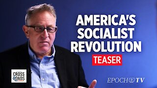 America Is In a Socialist Revolution - Interview With Trevor Loudon   Crossroads