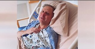 Dad with Alzheimer's learns daughter and her husband are pregnant after 3 year fertility struggle