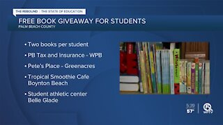 Free book giveaway for Palm Beach County students this week