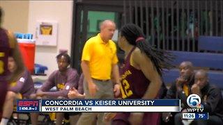 Keiser Basketball beats Concordia