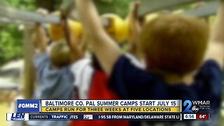 Baltimore County offers summer camps to strength community relationships, prevent youth crime, gang involvement