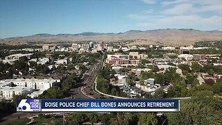 Boise Police Chief Bill Bones announces retirement