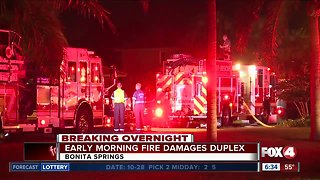Early morning fire in Bonita Springs rips through home