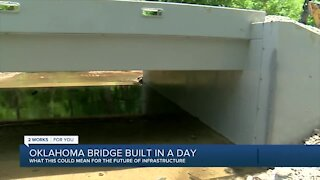 Glenpool company designs bridges built in a day