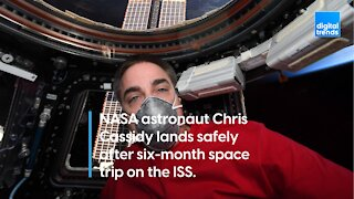 Astronauts land after 6 months in space
