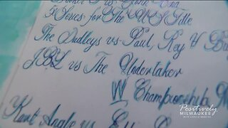 Mr. Calligraphy: How one man got the praise of many for his handwriting