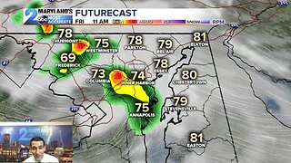 More Heavy Hit Or Miss Storms Friday