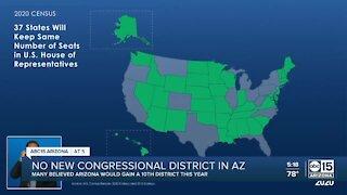 No new congressional district in Arizona