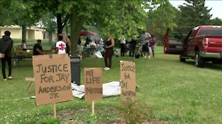 Family, friends call for justice for Jay Anderson