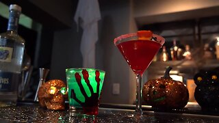 Simply Sweet: Making Creepy Cocktails for Halloween