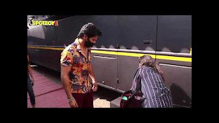 Sara Ali Khan & Varun Dhawan spotted at Mehboob Studios | SpotboyE
