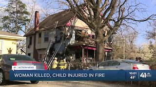 One person died after being pulled from KCMO house fire