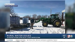 Rural water issues: 120 water systems affected by winter storm