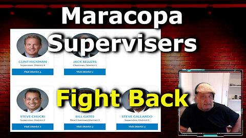 BREAKING: Arizona's Maricopa County Board of Supervisors Calls Emergency Meeting To Delay Audit