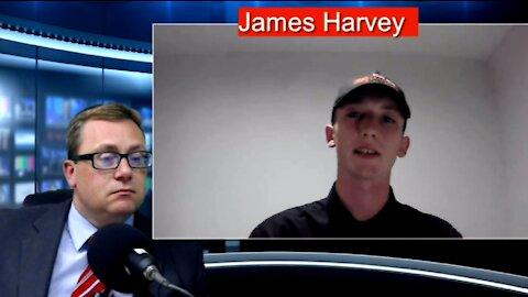 UNN's David Clews talks to James Harvey