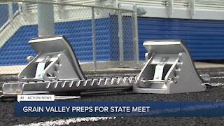 Grain Valley preps for state meet