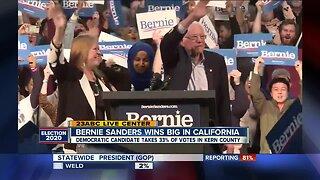 Sen. Bernie Sanders wins in Kern County and California