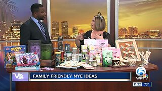 Family-friendly New Year's Eve party ideas