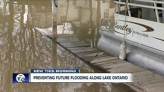 Officials say water on Lake Ontario will continue to rise