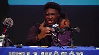 Wellington High School football star picks Auburn