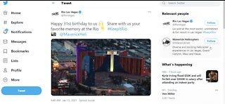 Happy birthday Rio Las Vegas