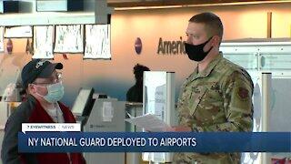 NY National Guard to do travel screening at airports