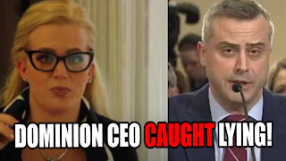 Dominion CEO Caught LYING During Michigan Testimony!