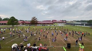 Tahlequah High School's marching band prepares for upcoming competitions