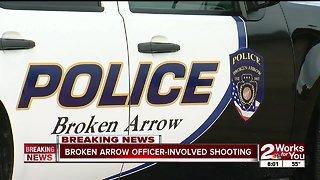 Broken Arrow officer-involved shooting