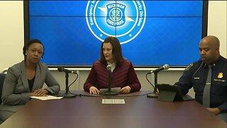 Governor Gretchen Whitmer announces first Michigan Coronavirus cases