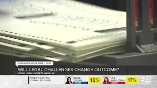 Will legal challenges change result of the election?