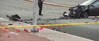 Motorcyclist dead after crash near Warm Springs