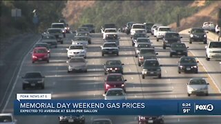 Memorial Day weekend gas prices
