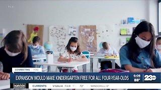 Governor Gavin Newsom signs order to expand kindergarten programs
