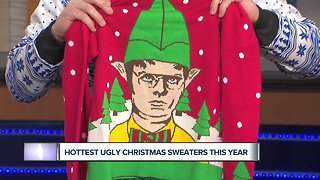 Check out the hottest ugly Christmas sweaters this year