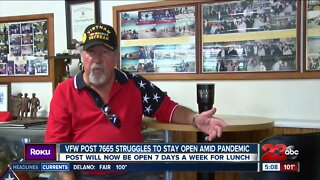 Covid-19 affects VFW Post