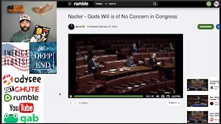 Jerry Nadler Says, 'NO GOD ALLOWED' In Congress LOL