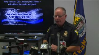 Toledo police give update on death of officer Anthony Dia