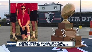 Livonia Franklin community pays tribute to coach, wife who died of COVID-19