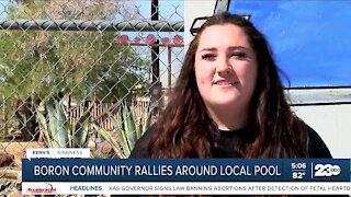 Boron community rallies around local pool