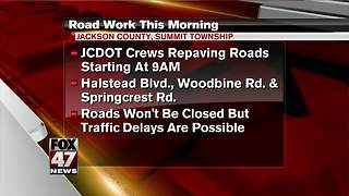 Crews to start paving roads in Jackson County