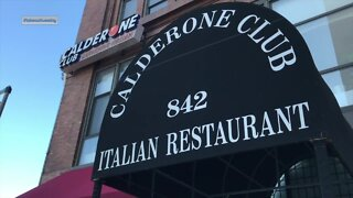 The Calderone Club providing classic Italian curbside