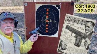Colt 1903 .32 ACP Pocket Pistol: Functional and Elegant