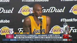 Bakersfield community mourns death of legendary NBA all-star Kobe Bryant