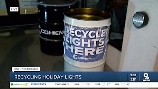 Holiday lights not working? Recycle them